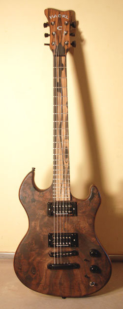Hackl Custom Guitar #031008