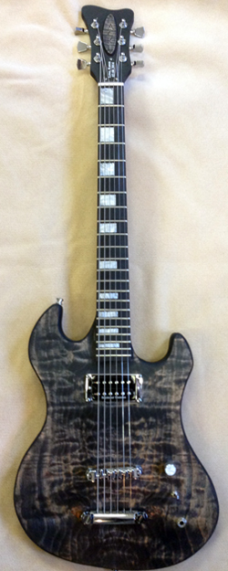 HACKL GUITARS CUSTOM #030814
